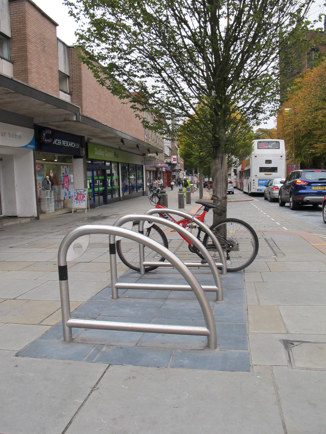 Sykkelparkering Furnitubes
